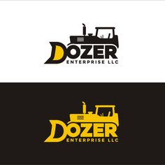 Construction Logo (Dozer/Excavator) Concept image included by Roniseven
