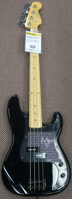 His Royal majesty Roger Waters Fender P signature bass