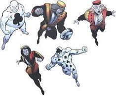 ¿Quien es quien? DC Comics: ROYAL FLUSH GANG I