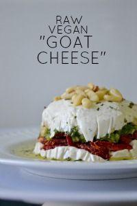 "Raw Vegan ""Goat"" Cheese Dip"