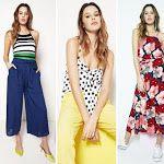 MODA 2019 | Moda y Tendencias en Buenos Aires: MODA PRIMAVERA VERANO 2019 URBANA Y FEMENINA: VESTIDOS, BLUSAS Y PANTALONES NÚCLEO MUJER PRIMAVERA VERANO 2019 Moda Formal, Summer Looks, Capri Pants, Jumpsuit, Estilo Boho, Boutique, Clothes, Dresses, Fashion