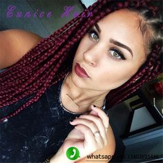 Ombre color 18inch crochet 3S box braids synthetic twist