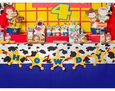 Toy Story Toy Story Party Toy Story Birthday by KraftsbyKaleigh Cumple Toy Story, Festa Toy Story, Toy Story Party, Toy Story Birthday, Man Birthday, Birthday Parties, Birthday Ideas, Birthday Wishes, Man Party