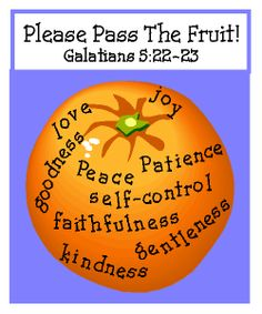 Fruit of the Spirit Game