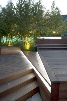 Image result for strip lighting you can walk on deck