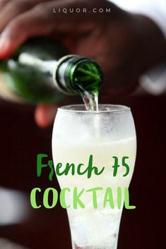 French 75 is a #classic #cocktail and just in time for all those #springtime brunches