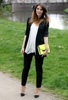 Flashback , Zara en Blazers, H en Camisas / Blusas, Mango en Bolsos, H en Pantalones, Zara en Tacones / Plataformas