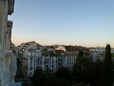 """Mattina, Dalla Finesta di """"HOTEL LE GRIMALDI"""", Nice, France (Marzo)"""