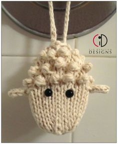 Knitting pattern for Woolly Soap on a Rope and more stash buster knitting patterns