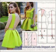 Moldes Moda por Medida: TRANSFORMAÇÃO DE VESTIDO-154