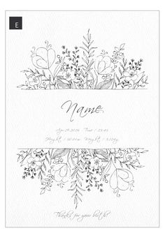 〖Resale * Plant Series ✲ ° Design Naming Book Baby Poster- 〖Resale * Plant Series ✲ * ゚ Design Naming Book Baby Poster 〖Resale * Plant Series Design Naming Book Baby Poster-# flowersdesignonwall Bullet Journal Ideas Pages, Bullet Journal Inspiration, Hand Lettering Buch, Floral Doodle, Illustration Noel, Baby Posters, Journal Aesthetic, Flower Doodles, Doodle Flowers