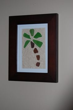 Sea Glass Palm Tree  Made with Sea Glass by CGlassSisters on Etsy, $45.00