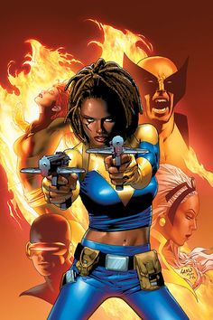 Black Characters, Comic Book Characters, Comic Book Heroes, Comic Character, Comic Books Art, Comic Art, Female Characters, X Men, Superman