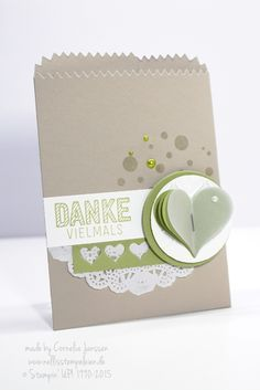 24 February 2015 Nellis Stempeleien: Stampin' UP! Sweetheart, Mini-Treat-Bag