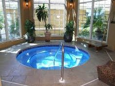 Image result for indoor hot tub
