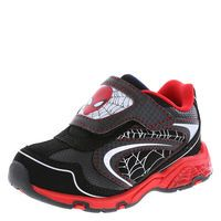 Boys' Toddler Spider-Man Lighted Runner, Black