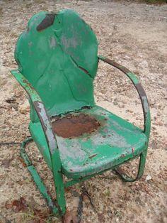 Cheap metal vintage furniture,old metal furniture,vintage patio chairs,retro vintage chairs,antique metal chairs - Vintage Gliders