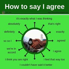 How to say I agree English Teaching Materials, English Writing Skills, Learn English Grammar, Learn English Words, English Language Learning, English Study, Teaching English, German Language, Japanese Language