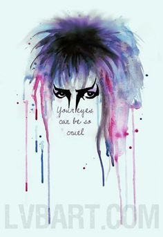 David Bowie The Labyrinth Within You. Labyrinth Tattoo, Labyrinth Quotes, David Bowie Labyrinth, Labyrinth 1986, Labyrinth Movie, Goblin King, Labrynth, Fanart, Film Serie