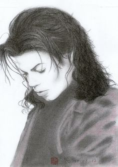 Michael Jackson - Stranger In Moscow Drawing by Eliza Lo - Michael ...