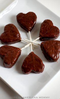 rice krispy hearts