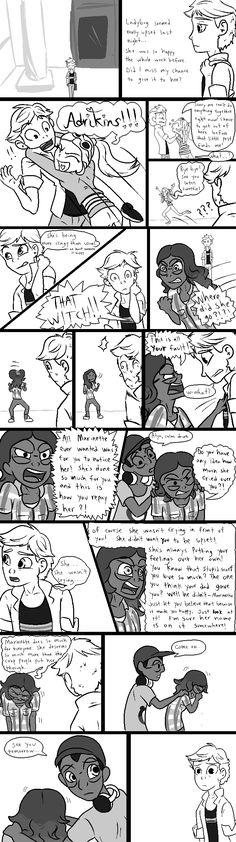 << << Page 2 >> >> Man, I hate drawing sad stuff. Which is a real bummer for me, since a few of these pages are gonna be pretty depressing. On the br.<<this is beautiful Ladybug Y Cat Noir, Miraclous Ladybug, Ladybug Comics, Mlb, Miraculous Ladybug Fan Art, Marinette And Adrien, Just In Case, Funny Memes, Kitty