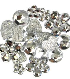 The Button Artist Embellishment Accents Sparkly
