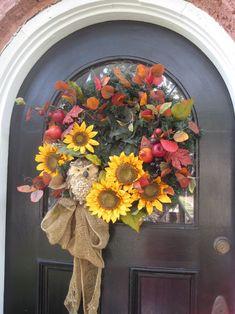 Beautiful Wreath for the Door.