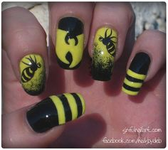 Wu Tang Killa Bees - Nail Art Gallery by NAILS Magazine
