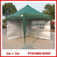 This Easy Set Pop Up instant canopy package deal is a great, no-fuss outdoor shelter. Ideal for family parties, weddings, picnics, sports events, outdoor vendors, craft fairs, job sites and camping trips, this easy up canopy provides easy set-up and take down in less than one minute.