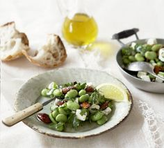 A lovely green, summery starter to serve before a meaty main
