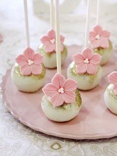 Bridal Shower Cake Pops