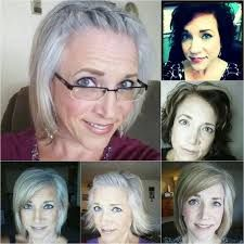 Image result for going gray before and after pictures