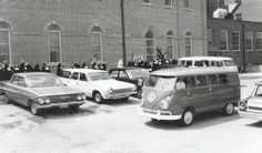 Sisters of St. Benedict of Ferdinand, Indiana. Mission Departure Day in 1966. #HistoryNun #NCSW http://www.thedome.org