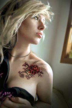 Lovely-Flower-Tattoo-Ideas-For-Girls-11.jpg (600×897)
