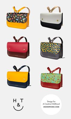 Honey & Toast - contemporary children's leather satchel bags, made in England | kids accessories & school bags