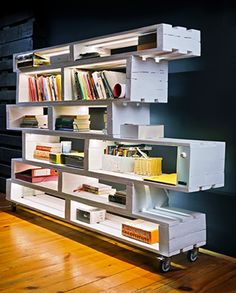 Fotos de Móveis de Pallets - Decoração com Reaproveitamento