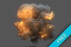 Bomb Explosion FumeFX presets