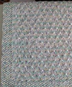 Ravelry: Seeds Baby Blanket pattern by Mary Lee Miller