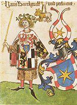 Brandenburg Purvsuivant, (1413-1471)London. BL; ms Add 15681 Folio154v Neubecker (pg 19)
