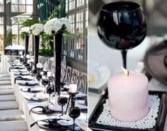 Coco Chanel inspires bridal shower