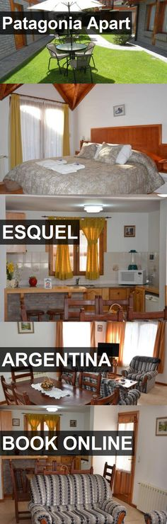 Hotel Patagonia Apart in Esquel, Argentina. For more information, photos, reviews and best prices please follow the link. #Argentina #Esquel #travel #vacation #hotel