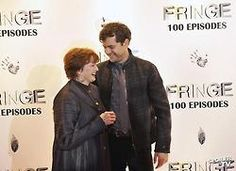 Joshua Jackson and Blair Brown Fringe 100th episode party