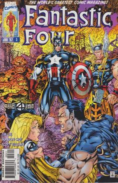 Fantastic Four #3 - Comic Book Cover