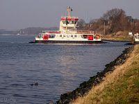 Fähre über den Nord-Ostsee-Kanal bei Schacht Audorf