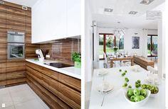 KUCHNIA W BIELI - zdjęcie od Ludwinowska Studio Architektury - Kuchnia - Styl Minimalistyczny - Ludwinowska Studio Architektury