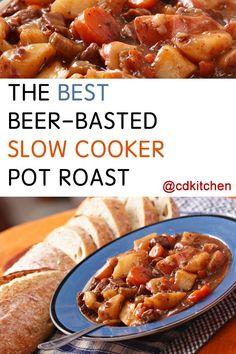 water, vegetable oil, sirloin or ground chuck roast, potatoes, garlic ...