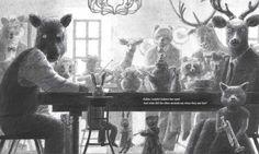 the tea party in the woods illustration akiko miyakoshi