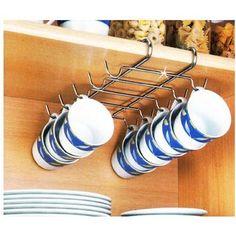 colgador de tazas de cocina
