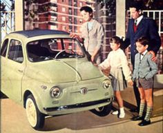 Fiat 500 D and family